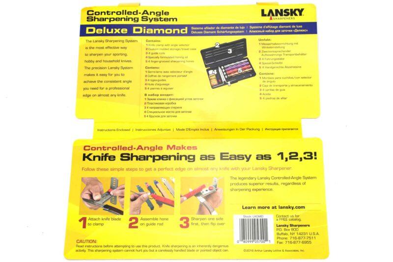 Lansky Deluxe Diamant Diamond Schleifsystem