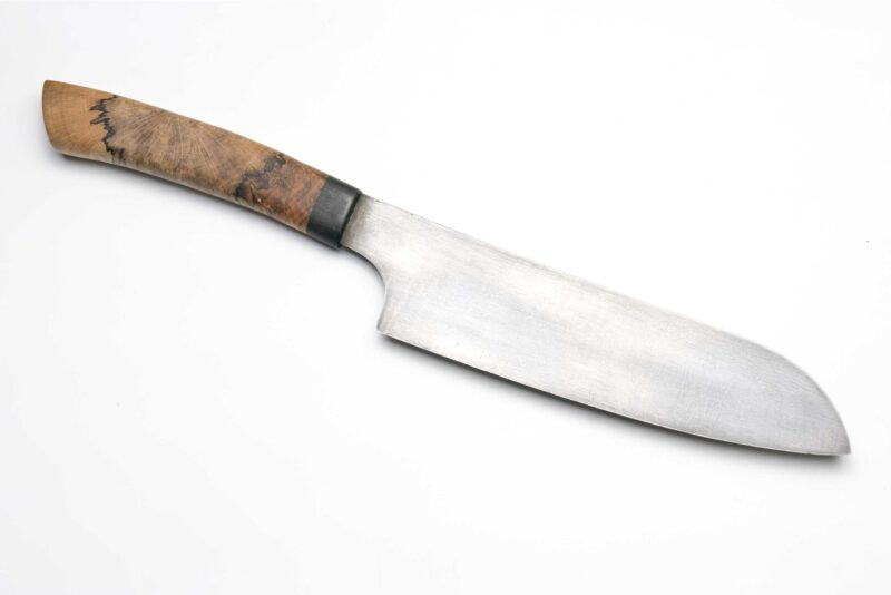 Damastmesser handgeschmiedet handgefertigt damast made in germany kochmesser Moorschmied