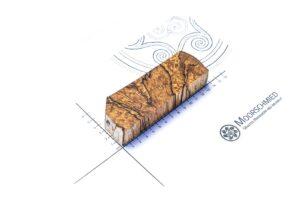 Stabilisiertes Holz: GESTOCKTE BUCHE (divers)