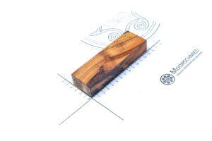 Stabilisiertes Holz: DARLATENER MOORKIEFER (Einzelstück)