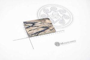 Griffschalen: MAMMUT ELFENBEIN Raffir (Einzelstück)