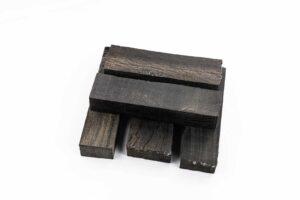 Stabilisiertes Holz: MOOREICHE (Einzelstück)