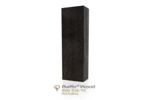 Stabilisiertes Holz: MOOREICHE Raffir