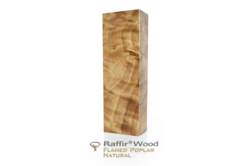 Raffirwood-poplarflamed01-natural-stabilisiert-griffholz-messer