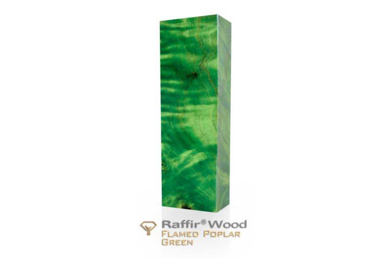 Raffirwood-poplarflamed07-green-stabilisiert-griffholz-messer
