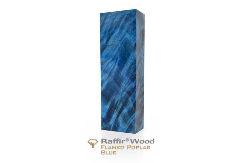 Raffirwood-poplarflamed08-blue-stabilisiert-griffholz-messer