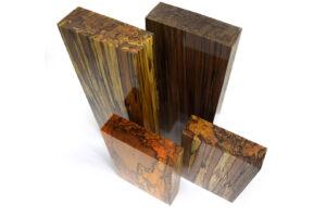 Stabilisiertes Holz: GESTOCKTE BUCHE Raffir (divers)