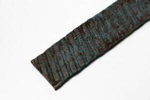 Messerstahl Carbon: BANDDAMAST boraxfrei | 200 Lagen